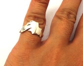 Stering Silver Lake Superior Ring - Lake Superior Jewelry - Michigan Lake Ring Jewelry - Midwestern pride, Midwest