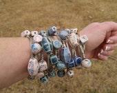 On Sale Beads, Bead Supply, Handmade Ceramic Beads from my Charleston, SC Studio