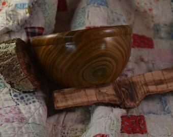 Lignum Vitae Bowl