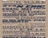 Custom Listing for elainemcferrin1 16 x 20 Grandparents