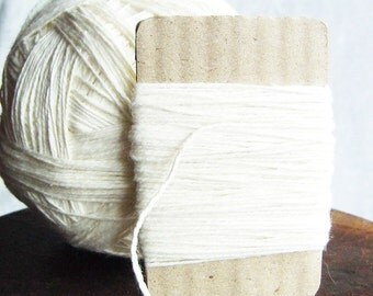 White Soft Cotton Thread 50 Yards = 45 Meters