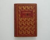 Cranford by Elizabeth Gaskell. Illustrated edition circa early 1900.