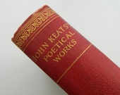The Poetical Works of John Keats. rare antique astor edition. circa early 1900.