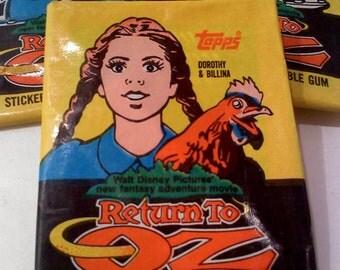 Return to OZ Trading Cards- Dorothy