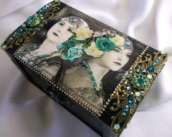 Jewelry Box, Trinket Box, Keepsake box,