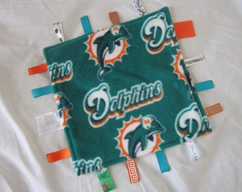 Miami Dolphins ribbon blanket
