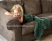 Crochet Mermaid Tail Afghan Pattern ~ Child Mermaid Tail Lapghan Crochet Pattern - Child Mermaid Tail Crochet Pattern