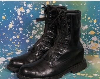 30% OFF Black COMBAT BOOTS Men's Size 11 D