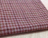 Rug Hooking and Applique Wool, Select-a-Size, Dusty Violet Check, W103