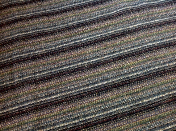 Black Stripe Wool Fabric for Rug Hooking and Appliqué, One yard, Half Yard, Fat Quarter, W130
