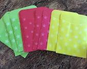 9 Cute Lil Envelopes 3x5- 60% off