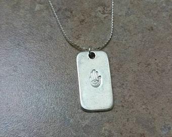 hamsa necklace, hamsa jewelry, hamsa hand necklace, hamsa pendant necklace, silver hamsa necklace, silver necklace, hamsa hand