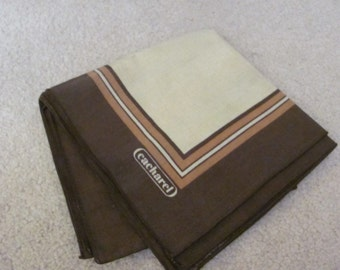 Napkins Cacharel Set of 4 Vintage Brown Dinner Napkins 18""