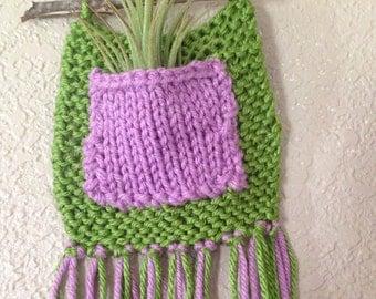 Green & Purple Wall Hanging