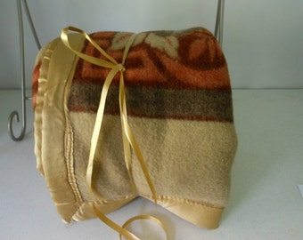 Thick Wool Blanket Browns