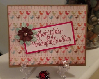 Assorted Hand Stamped Cards - Handmade Cards - Birthday Cards - Handmade Stamped Christ Inspired - Thinking of you Cards