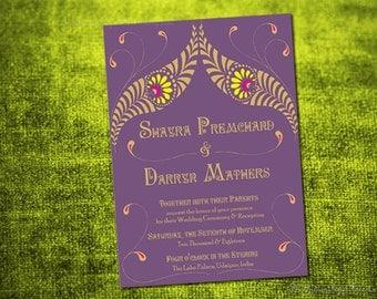 Wedding Program Design Pdf VIVAAH Diy PRINTABLE Digital File Palace Destination Invitation Suite Indian Template Ceremony Order of Service