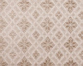Linen fabric by half yard Jacquard fabric
