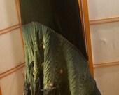 Crinkle Me Denim! Boho Skirt. Size large to extra large