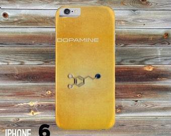 Dopamine Molecule iPhone Case, iphone cover, iPhone 4 case, iPhone 4s case, iPhone 5 case, iphone 6 hard case, Paper Quilling