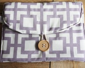 Diapering on the Go - Travel Changing Pad - Purple GiGi