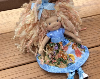 "Waldorf doll clothes, 9-10"" Blythe sized, pocket"