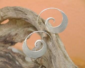 Silver earrings-The Silver One (1)