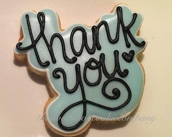 Thank you cookies 2 dozen