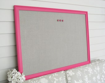 Damask Bulletin Board Framed Magnetic Memo Board Deluxe