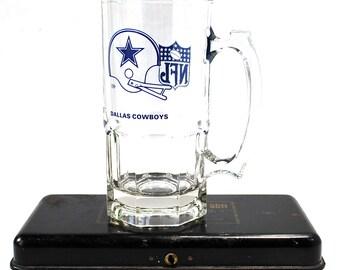 Vintage Dallas Cowboys Beer Stein 80's
