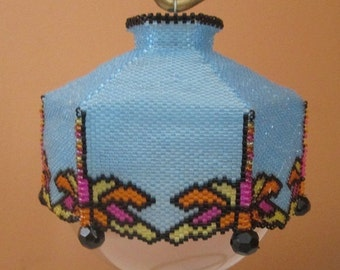 Dancing with the Dragonflies Beaded Ornament Cover e-pattern