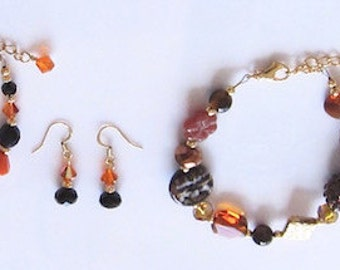 Reserved for Joy, Two Bracelets and Earring Sets