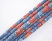 Beads, Turned Graduated Stone beads, beading, jewelry