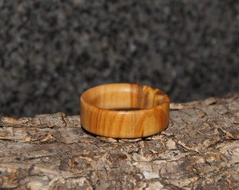 Wood Ring Size 9 3/4 - Olive Wood Ring