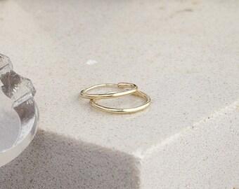 Nova Gold Ringlet Earrings