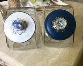 Blue & White Custom Jar