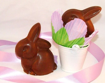 Solid Milk Chocolate Easter Bunny (with dairy)