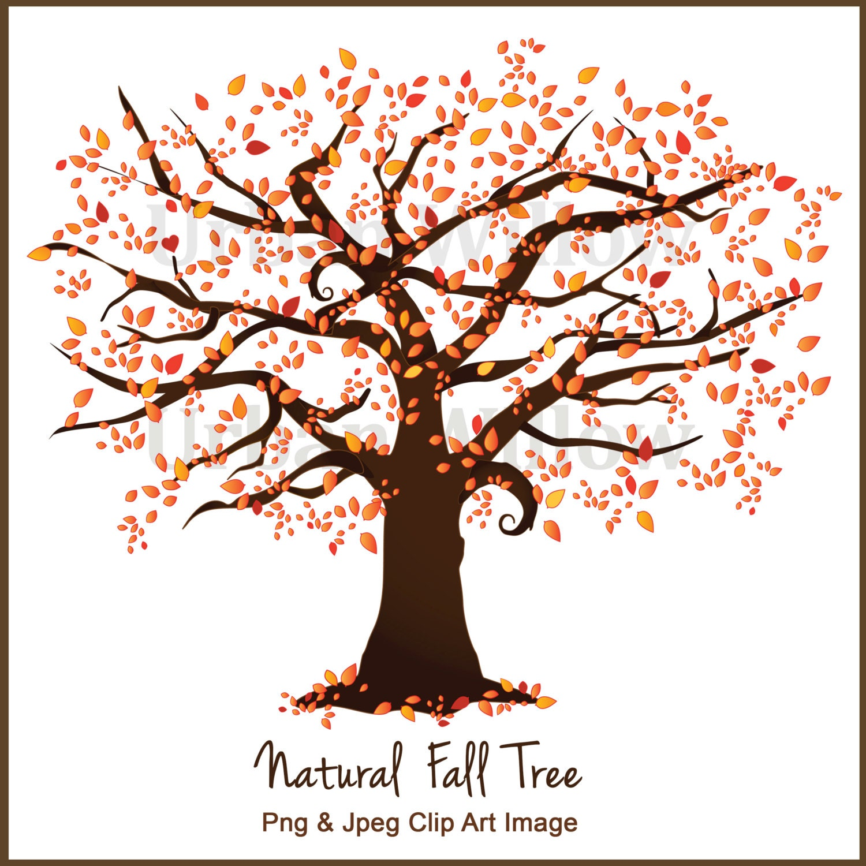 Fall Tree Clipart Clipart Autumn Tree Family Trees by ...