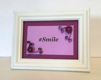 Hashtag Text Decor, Wall Decor, Shelve Decor, Frame Decor, Girl's Decor