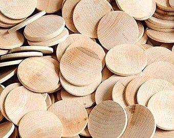 Woodpeckers 200 Wooden Circles, 200 Pieces