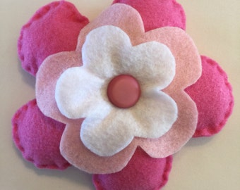 Felt Pattern-Flower-Plushie