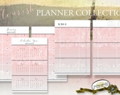 2016 PLANNER *FLOURISH*   Calendars - 52 Dated Weeks   Monthly   Year   Goals   Tasks, 2-Page Layouts A5 Half Size Planner Pages