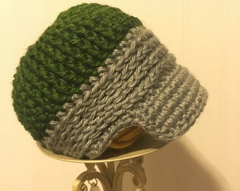 Perfect Fit Newsboy Hat - Made to Order