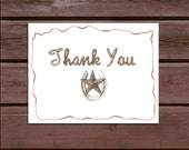 100 Western Wedding Thank You Notes