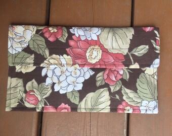 The Beautiful Hydrangea Coupon Holder / Organizer / Wallet