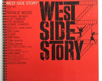 West Side Story Recycled Record Album Book