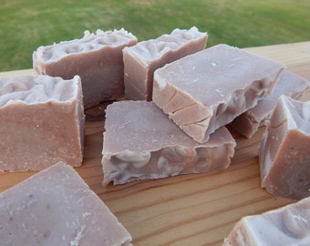 Chocolate Fudge caffeine soap carnivore friendly medium scent geekery handmade soap