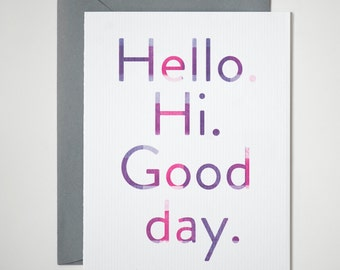 Hello Hi