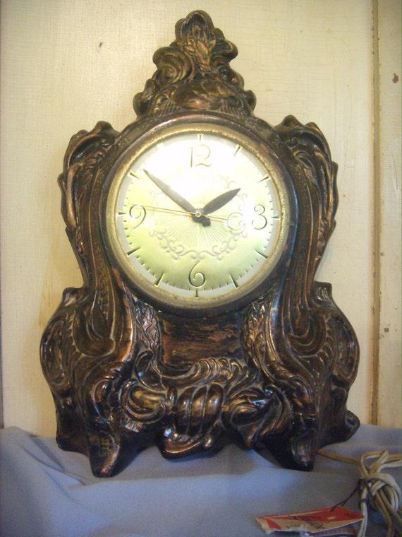Lanshire Mantel Clock Vintage Clock 60 S Mantel Clock
