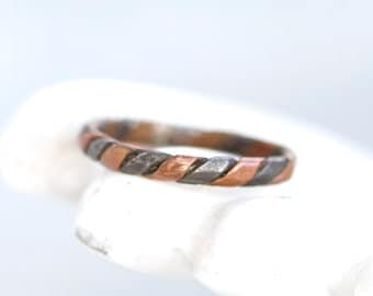 Copper Band Ring - Size 7.5